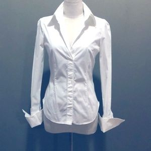 ARMANI COLLEZIONI Blouse with French Cuffs Size 8